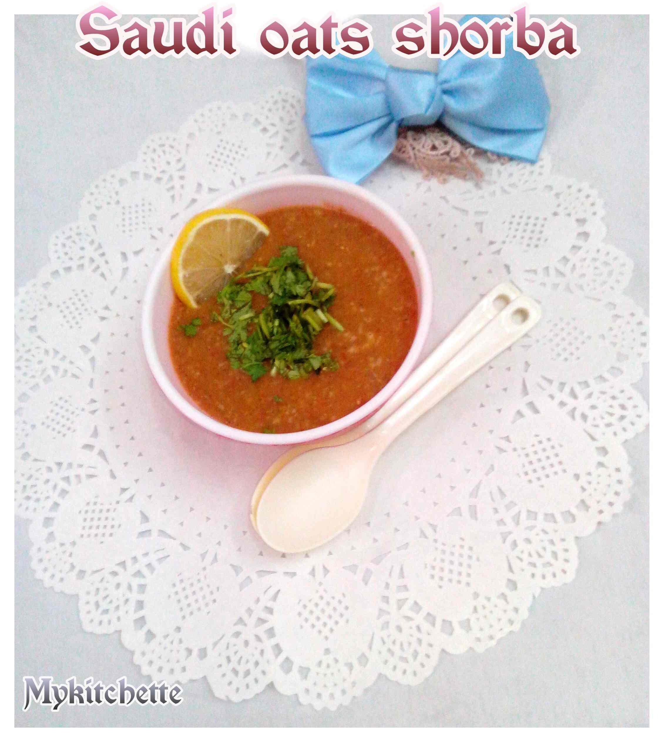 Saudi Shorba With Oats My Kitchette
