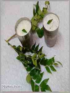 curry leaf lassi