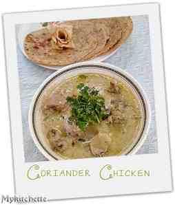coriander chiken