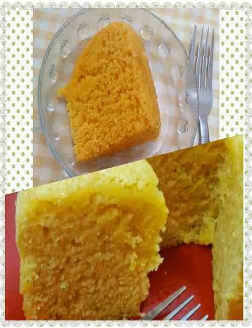 custard powder cake | MY KITCHETTE
