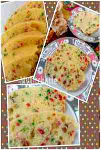 creamcheese fruit cake