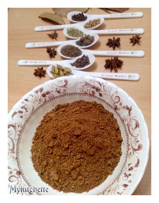 Garam masala recipe my kitchette - Garam masala recette ...