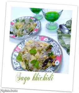 sago-khichidi