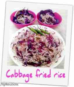 cabbage friedrice