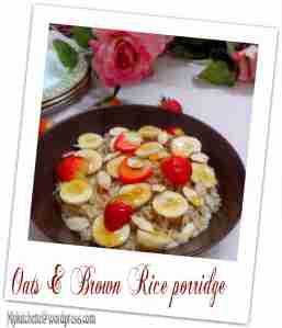 brownrice porridge