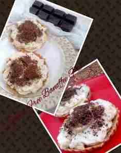 making banofee pie