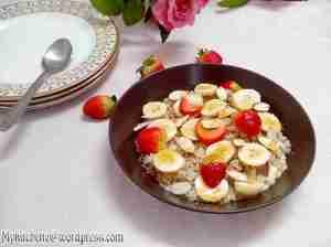 porridge- brownrice,oats