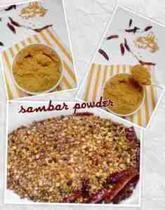 sambar,powder
