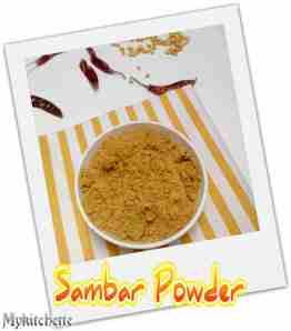 sambarpowder