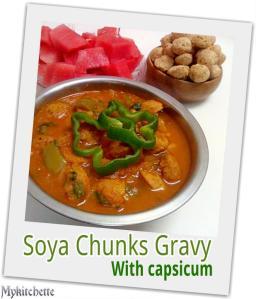 soyachunks gravy