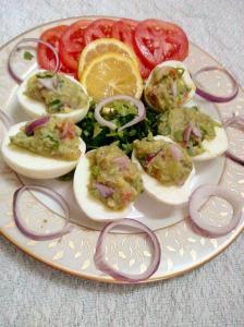 avocado-egg salad