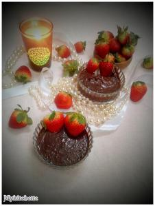 dark chocolate-mousse