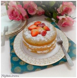 genoise cake...