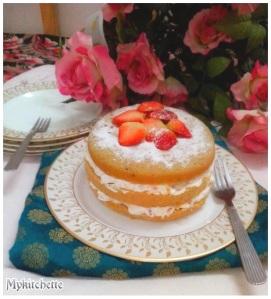 Genoise-cake