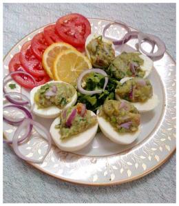 gucamole egg salad