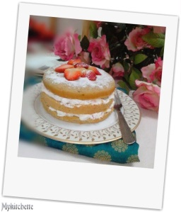 healthy genoise cake