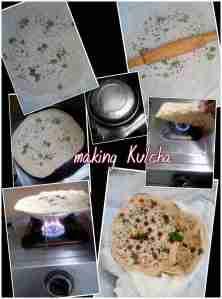 making kulcha