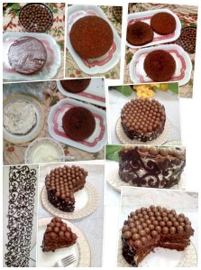 MALTESER CAKE MAKING