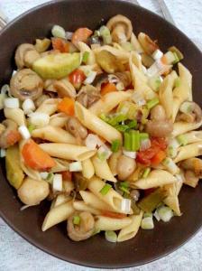 pennepasta vegetables