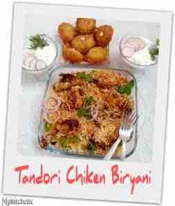 tandoori-chiken biryani