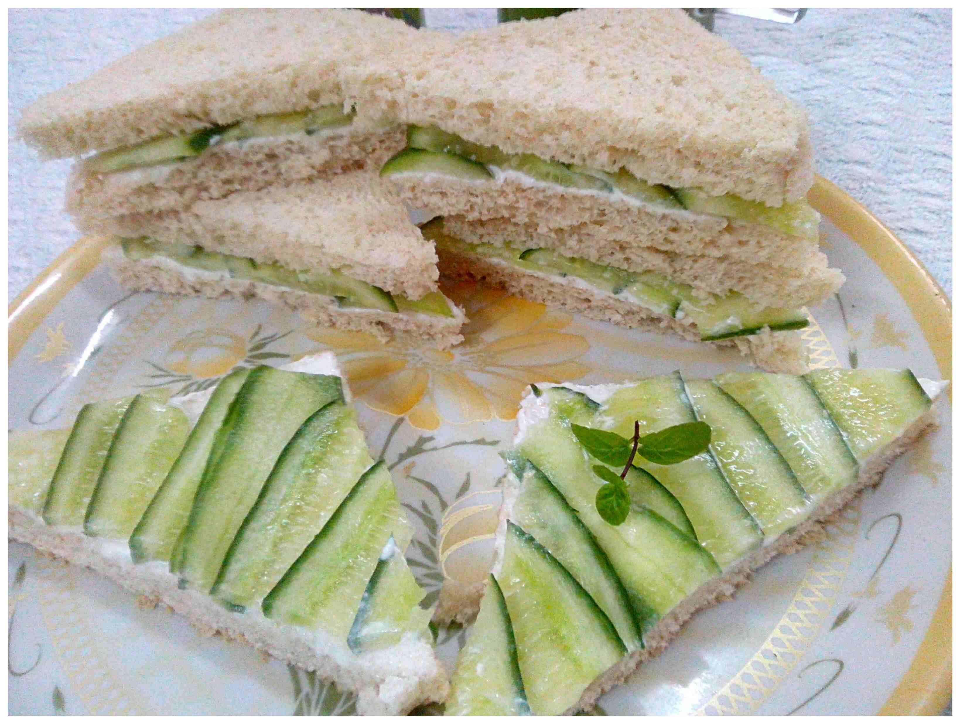 COOL CUCUMBER SANDWICH | MY KITCHETTE