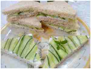 cool cucumber sandwiches