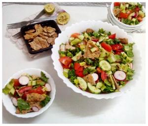 fattoush - salad