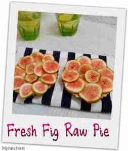 raw fig pie