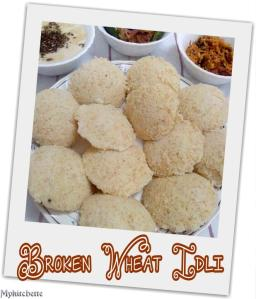 wheat-idli