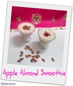 almond smoothie