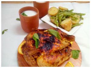 chiken   roast