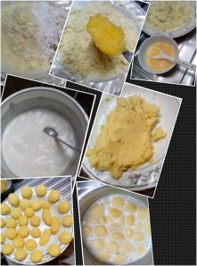 making rasmalai