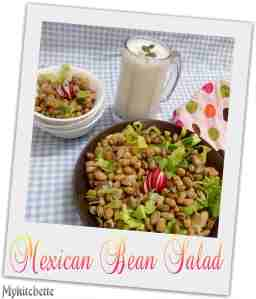 mexican- bean salad