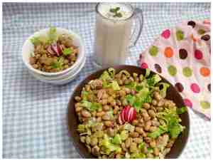 salad- mexican bean
