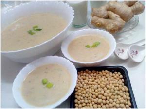 soya-bean soup