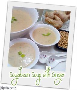 soya soup