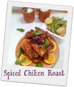 whole chiken roast