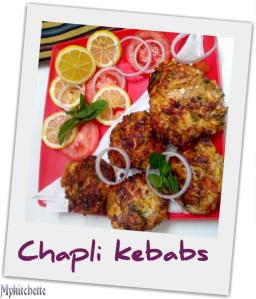 chapli - kebab