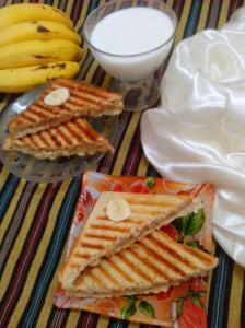 pnt btr banana sandwich