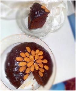raagi dark chocolate cake