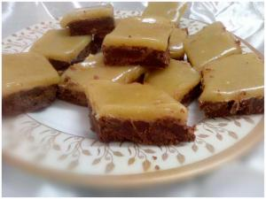 chocolate- burfi